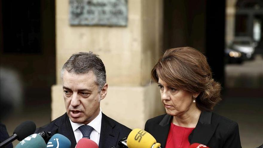 """Barcina y Urkullu plantean la relación Navarra-Euskadi como """"cordial"""" y """"respetuosa"""""""