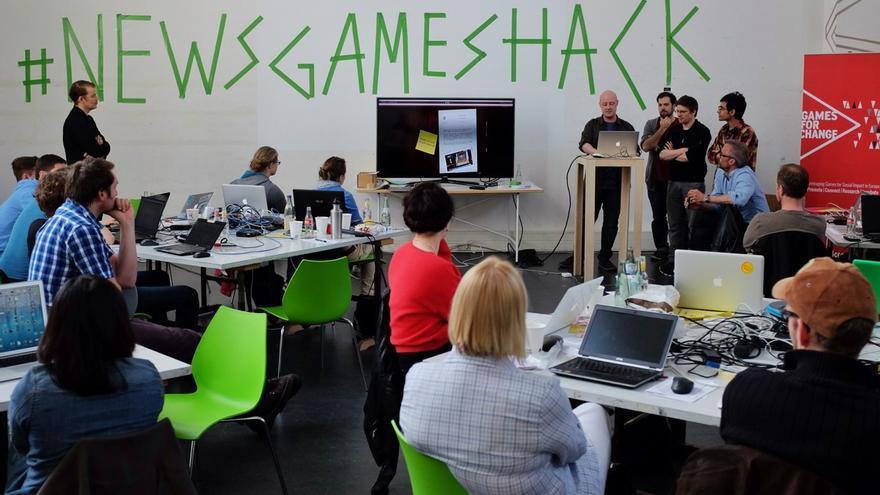 Hackathon de Colonia. Foto: Guy Degen