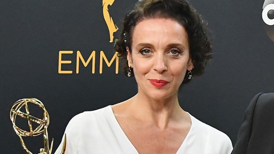 Roban el bolso de la actriz de 'Sherlock' tras recoger el Emmy