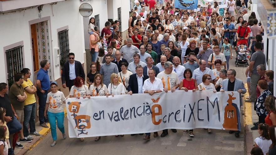 Imatge de la XXII Trobada d'Escoles en Valencià del Camp de Morvedre