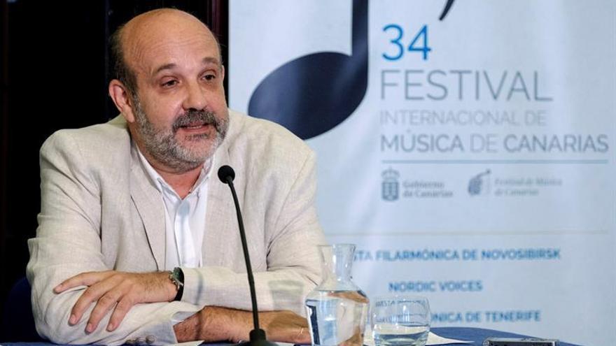El tenor palmero Jorge Perdigón.