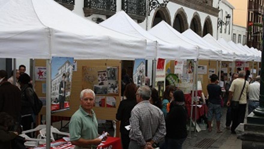 Imagen de la Feria del Voluntariado.