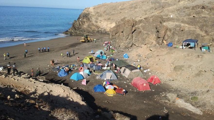 De los desalojos en las playas de Gran Canaria #4