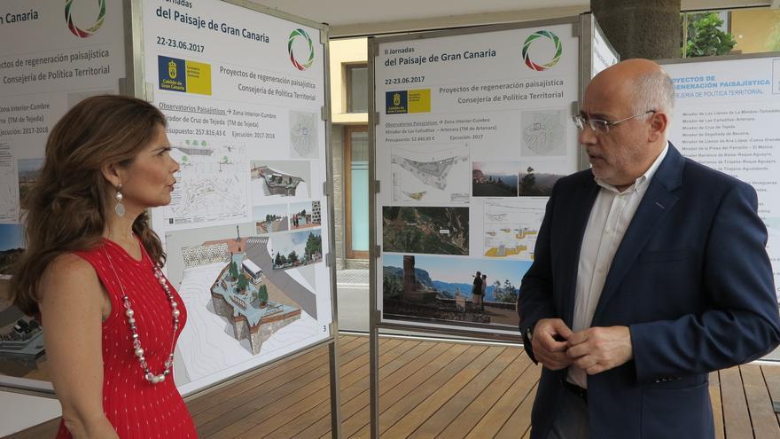 Presentación de la exposición Mirando Gran Canaria