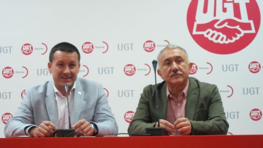 """Pepe Álvarez (UGT) pide a la izquierda que posibilite una moción de censura """"con margen de credibilidad"""""""