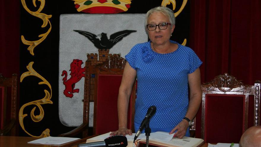 Amparo Ballesteros, nueva alcaldesa de Tobarra (Albacete)