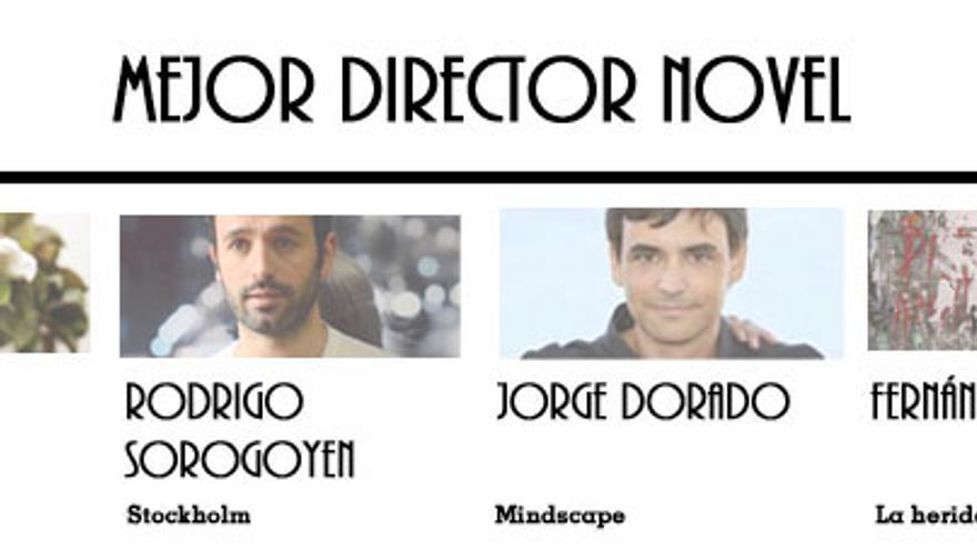 Nominados a Mejor Director Novel