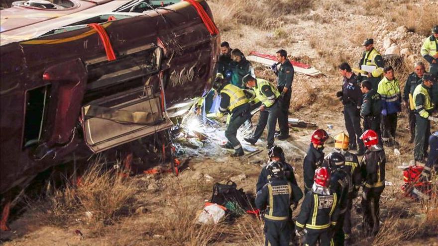 Rajoy, consternado por el accidente de Murcia, expresa sus condolencias por las víctimas