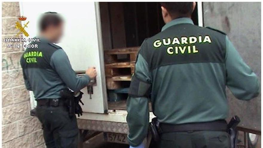 Cae en Madrid un grupo especializado en el contrabando de picadura de tabaco