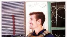 El periodista James Foley en una imagen de su grupo de apoyo en Facebook