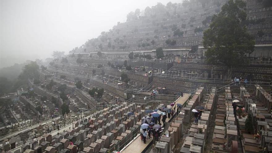 Las tradiciones funerarias chinas causaron más de 3.000 incendios y 10 muertos