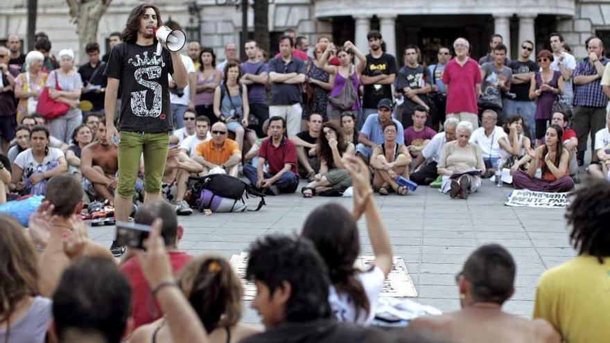 Asamblea del 15-M en Valencia