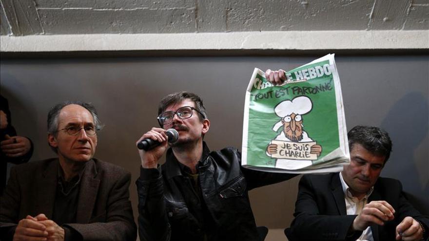 """El nuevo director de """"Charlie Hebdo"""" renuncia a dibujar a Mahoma"""