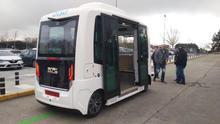 Z10, el primer autobús sin conductor y 100% eléctrico en circular por tráfico abierto en España