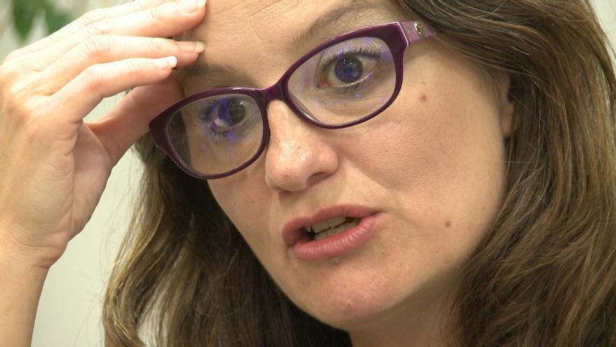 """Mónica Oltra: """"No hay bolardo que nos pueda proteger si no tenemos mecanismos de detección"""""""
