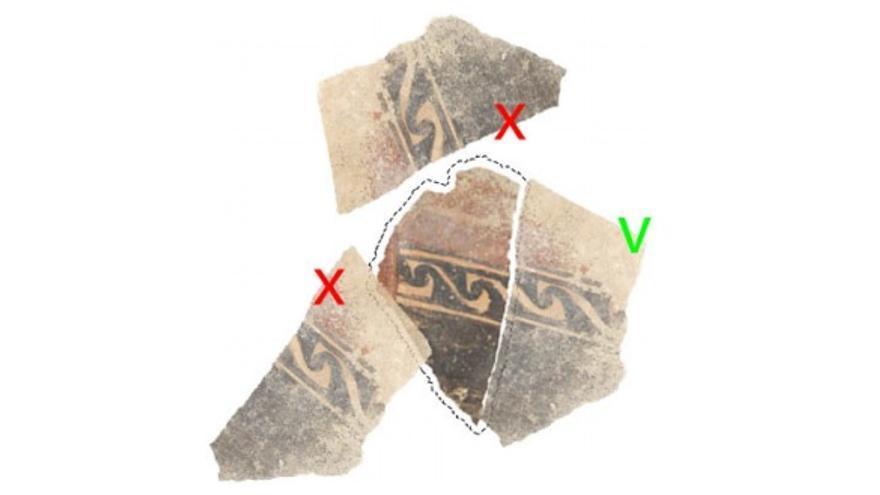 El fragmento debe poder superponerse con los otros fragmentos transformados, no con el original (check verde)