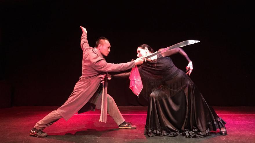 Espectáculo de flamenco fusión en el Palau de la Música