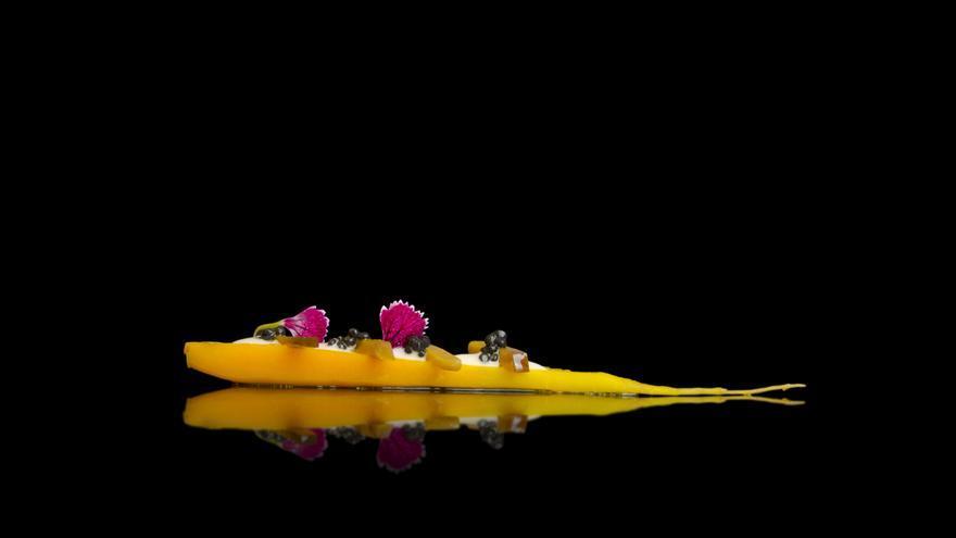 Snack de zanahoria aliñada estilo gaditano, en La Curiosidad de Mauro Barreiro.