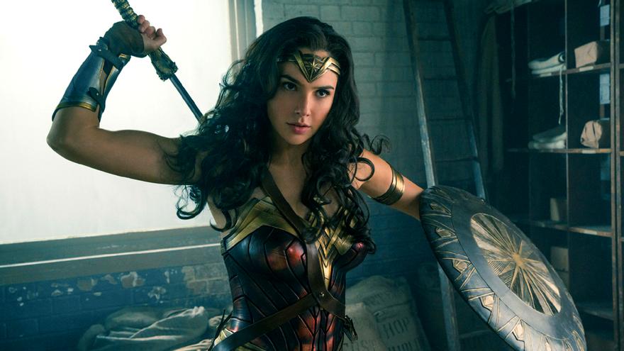 Gal Gadot, en una escena de 'Wonder Woman'