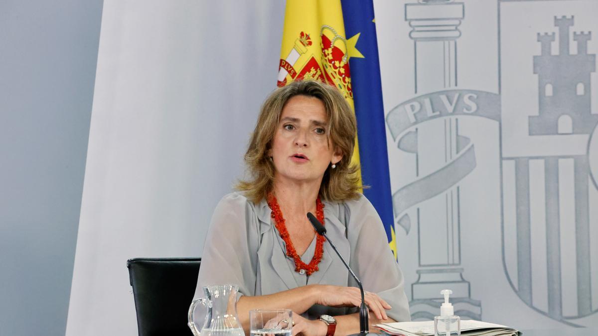 Imagen de archivo de la vicepresidenta cuarta y ministra para la Transición Ecológica, Teresa Ribera. EFE/Zipi