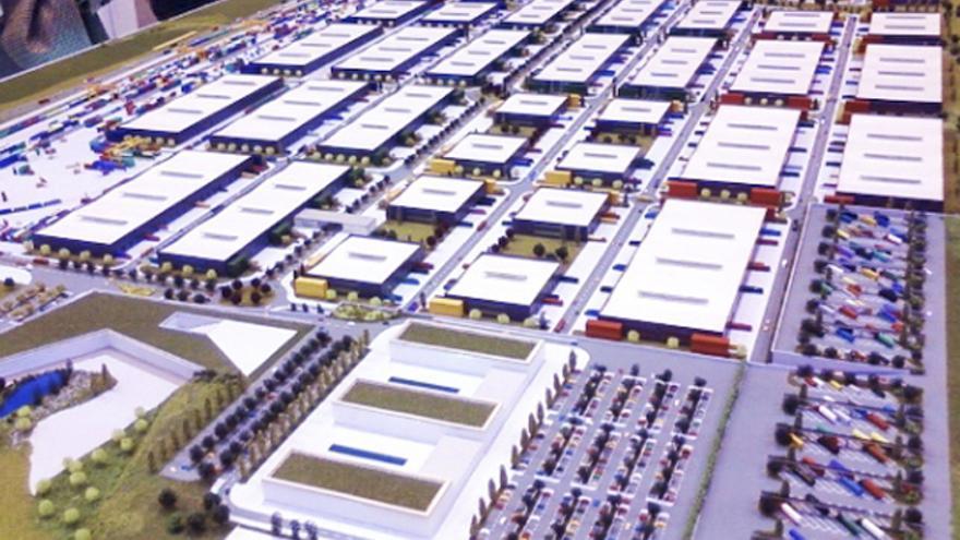 Maqueta de suelo industrial en Marchamalo (Guadalajara) / Ayuntamiento