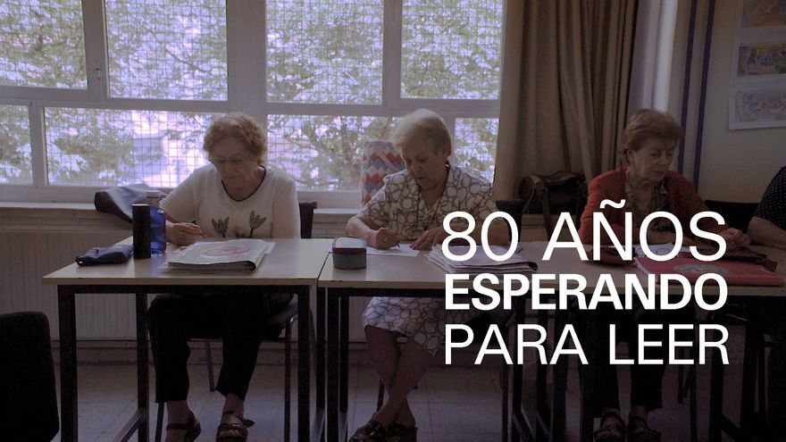 Esperar 80 años para aprender a leer