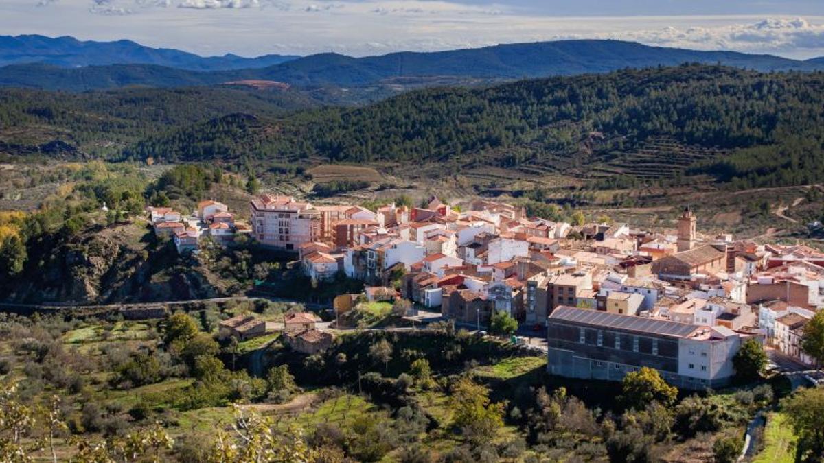 La localidad castellonense de Torás, en la comarca del Alto Palancia.
