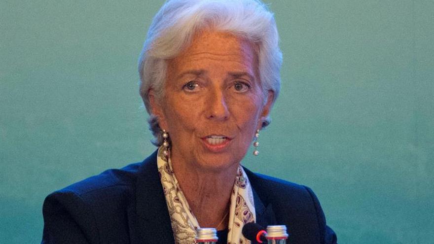 Lagarde advierte de que innovación tecnológica puede aumentar la desigualdad