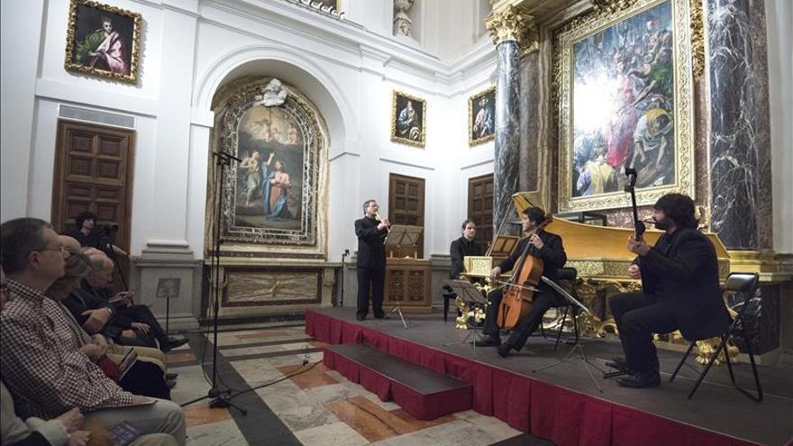 La Sacristía de la Catedral Primada recupera el barroco a los pies del Greco