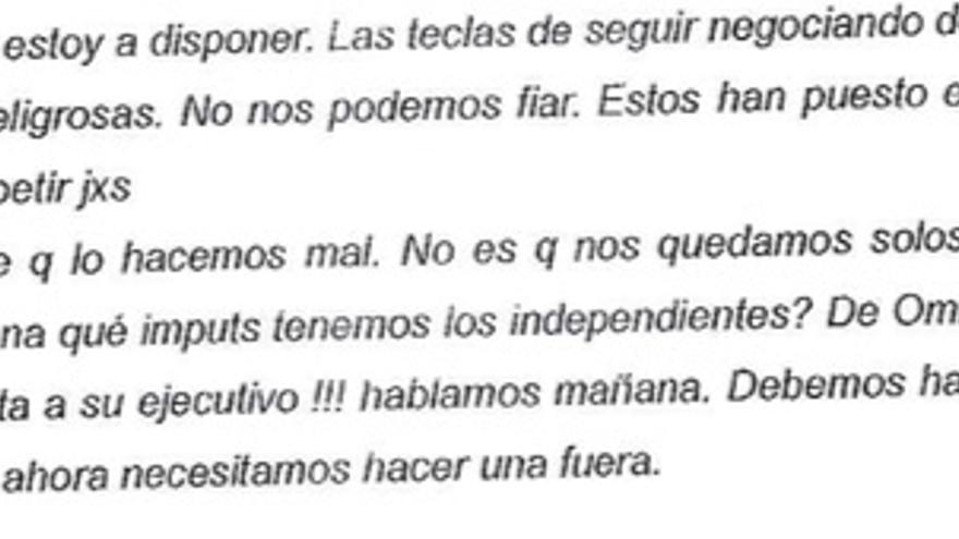 Crítica de Puigdemont a Junqueras