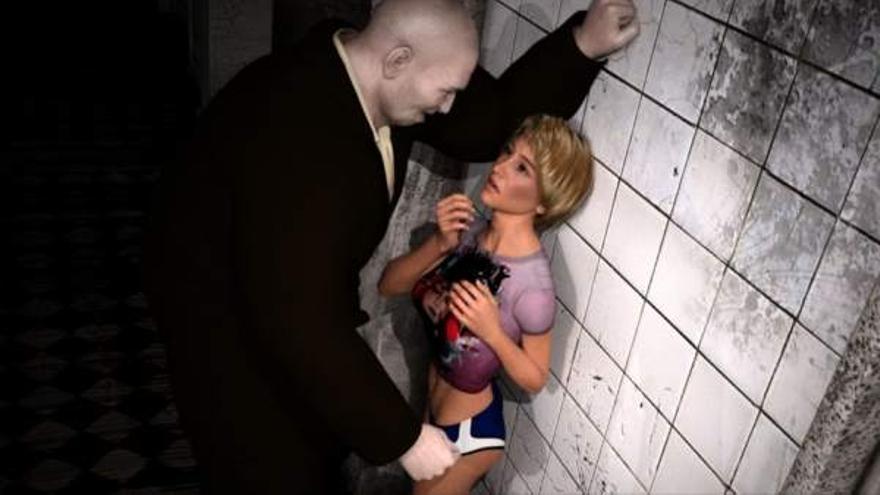 Captura promocional del juego 'Rape Day'