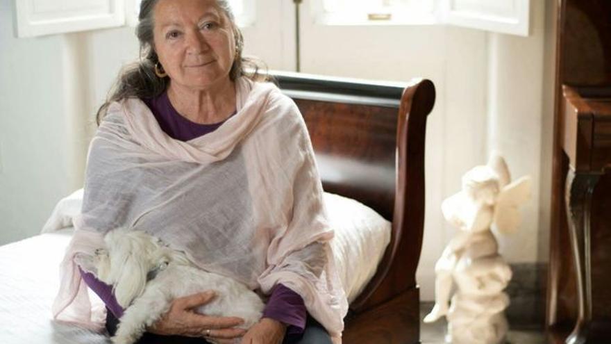 La escritora Elsa López. Foto: MÓNICA RODRÍGUEZ MEDINA.