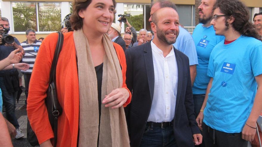 """Colau pide """"responsabilidad"""" a Rajoy y ve """"lamentable"""" que no reclame el escaño a Rita Barberá en el Senado"""