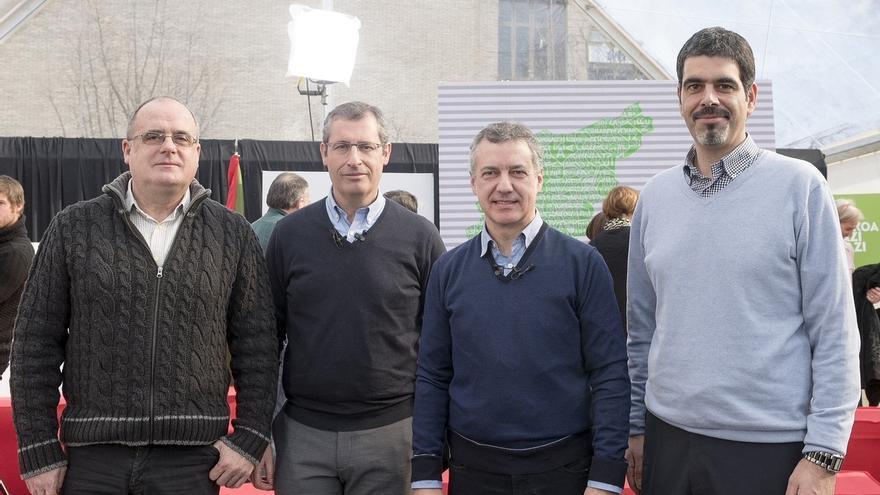 """Urkullu dice que PNV """"se alejará de las imposiciones"""" e impulsará """"el diálogo y la colaboración"""" para gobernar Gipuzkoa"""