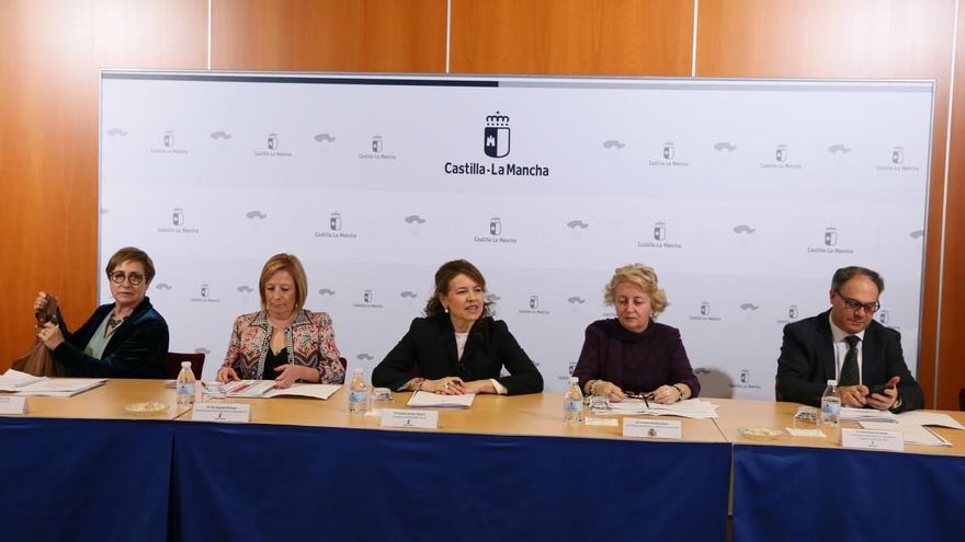 Aurelia Sánchez con fundaciones tutelares
