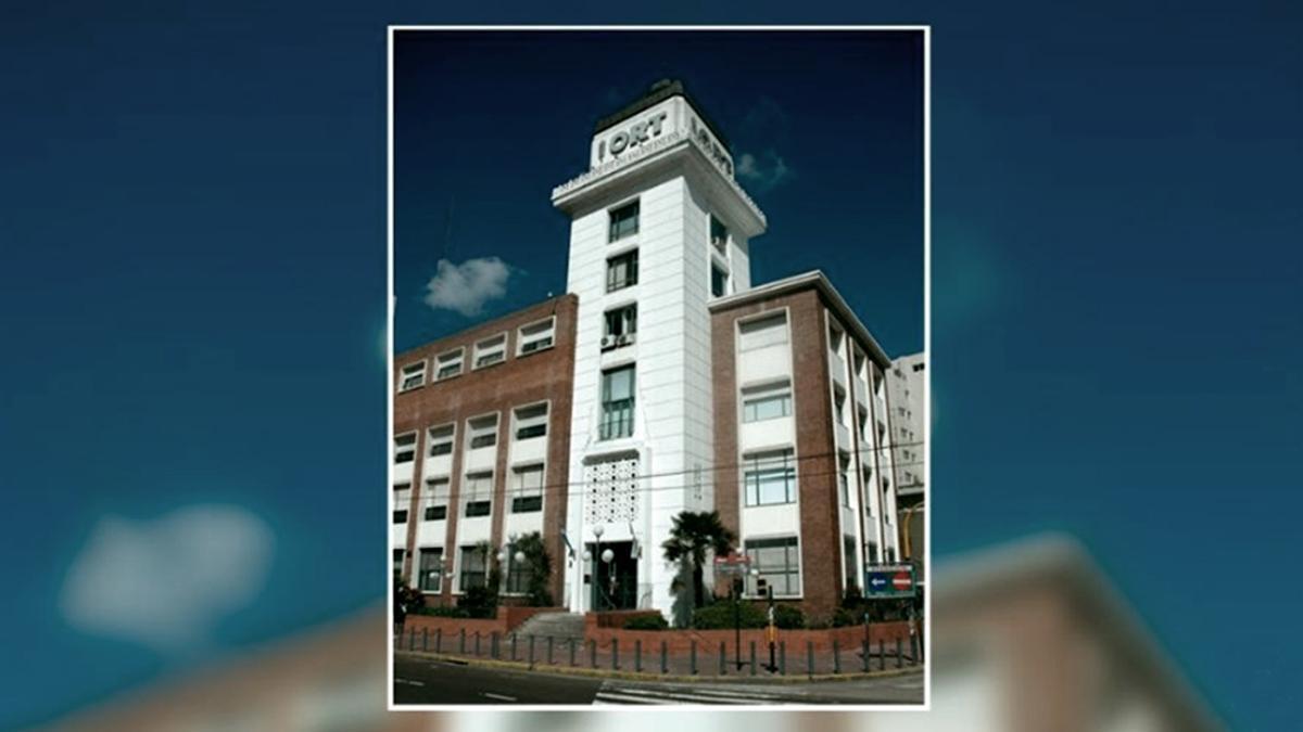 La sede del colegio ORT de Belgrano. Hay decenas de casos de coronavirus confirmados.
