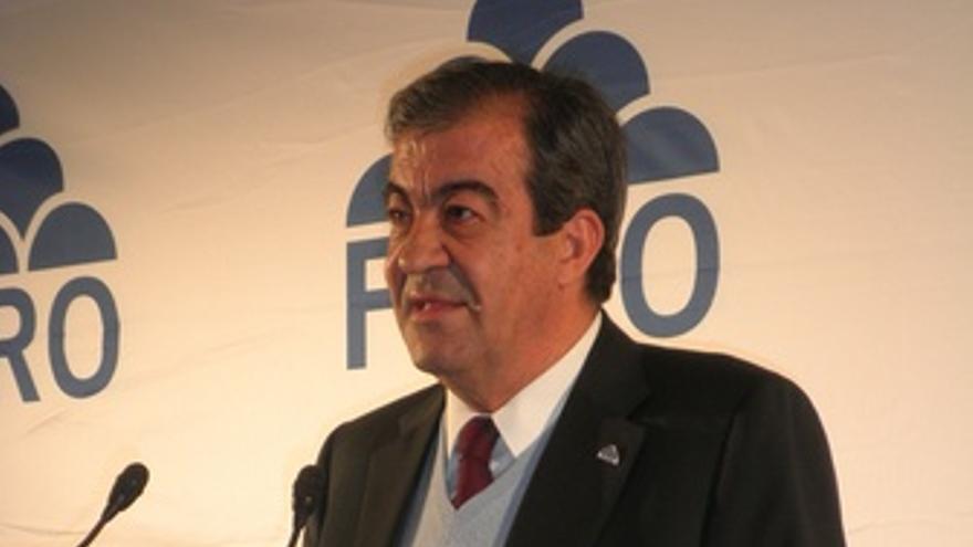Francisco Álvarez Cascos En Un Acto En Leganés