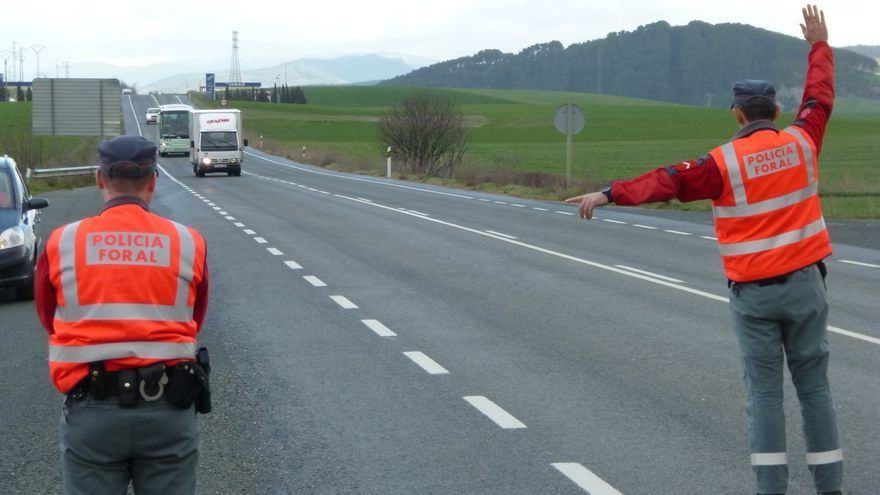 Las policías de Navarra reforzarán esta semana su vigilancia en las carreteras secundarias