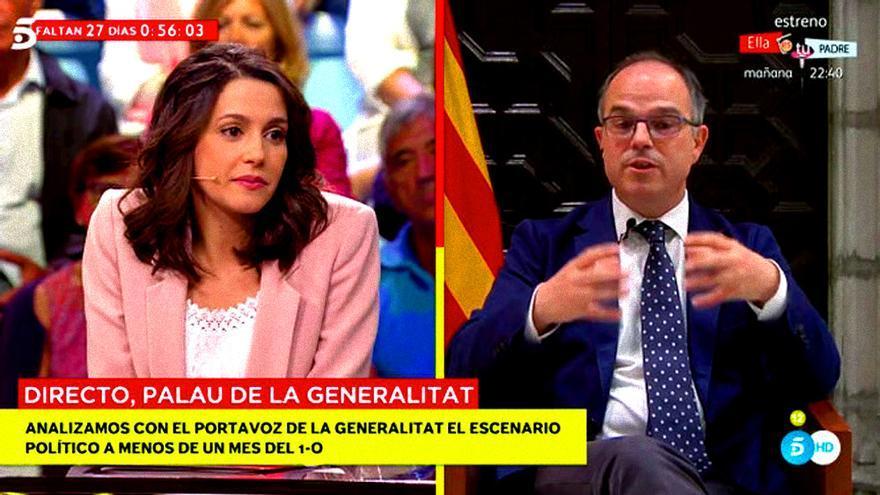 Inés Arrimadas en Mad in Spain (Telecinco)