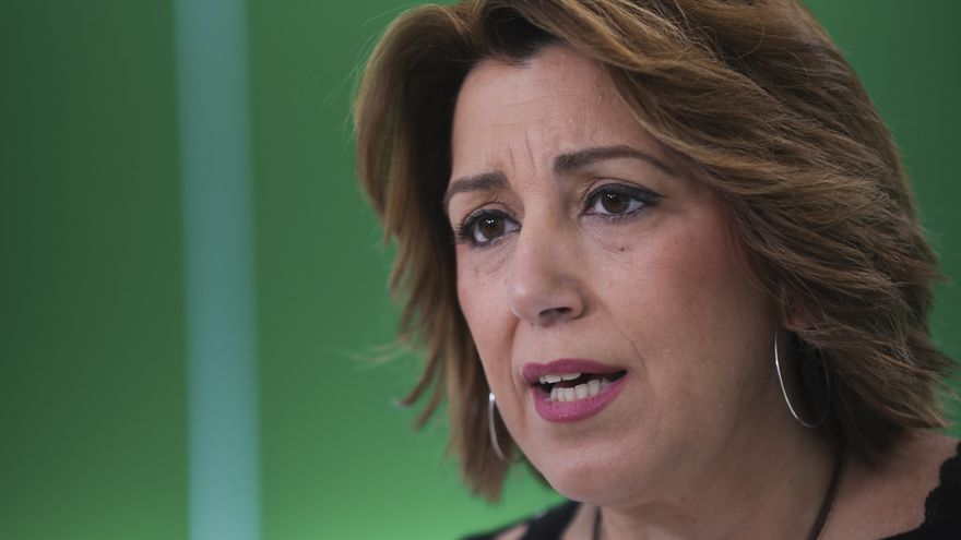 Archivo - La secretaria general del PSOE de Andalucía, Susana Díaz
