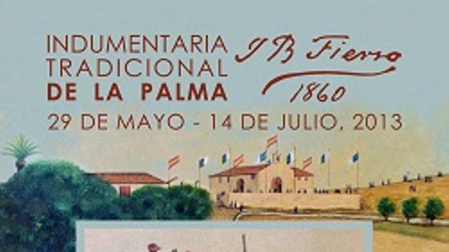 Cartel de la exposición de J. B. Fierro.