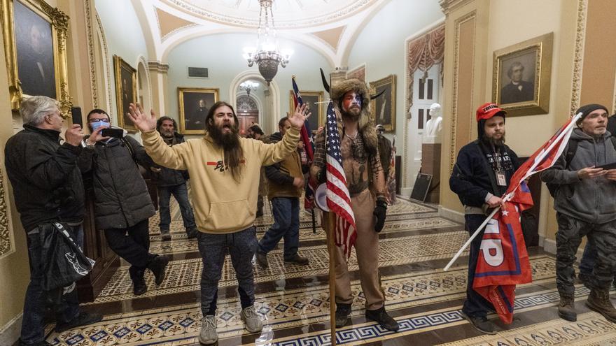 Asaltantes del Capitolio de EE.UU