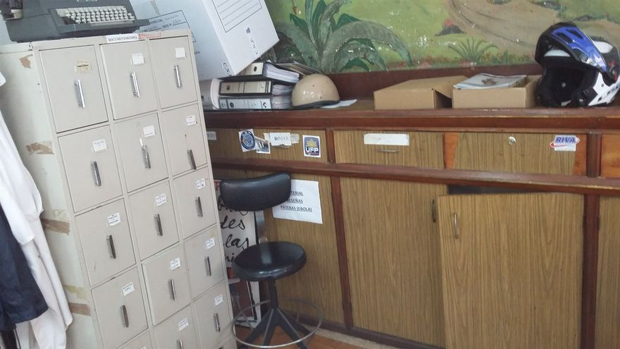 Estado de una estancia en la Comisaría de Tres de Mayo, según la CEP