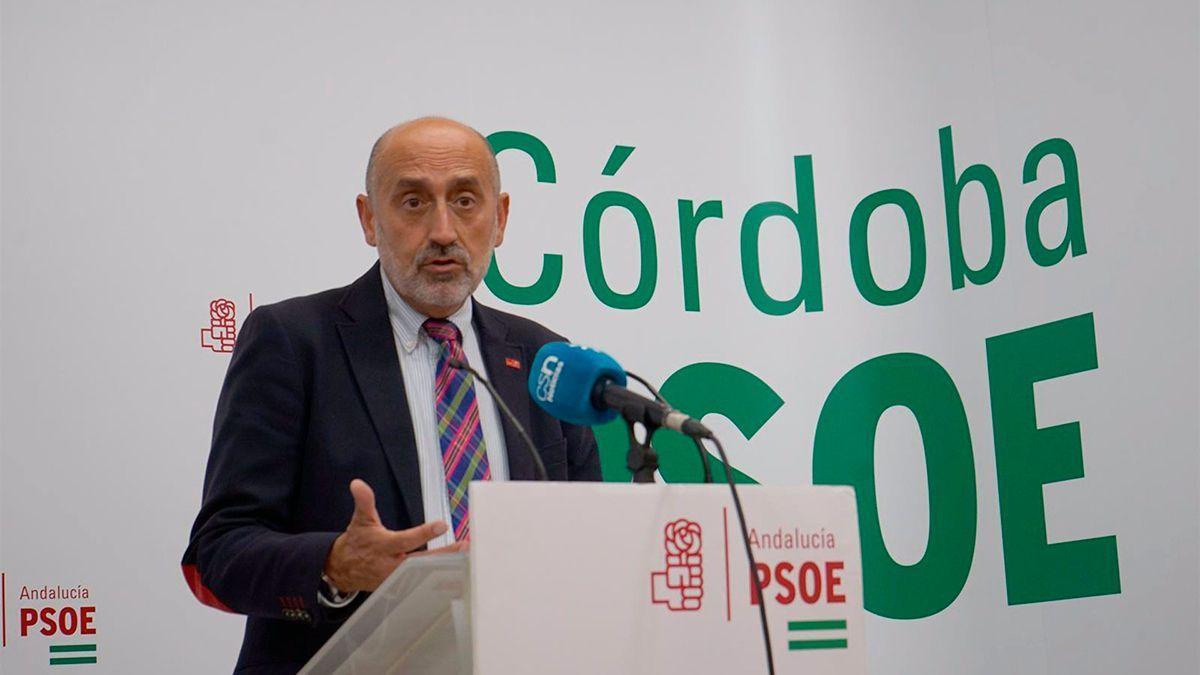 Luis Ángel Hierro, candidato en las primarias del PSOE andaluz.