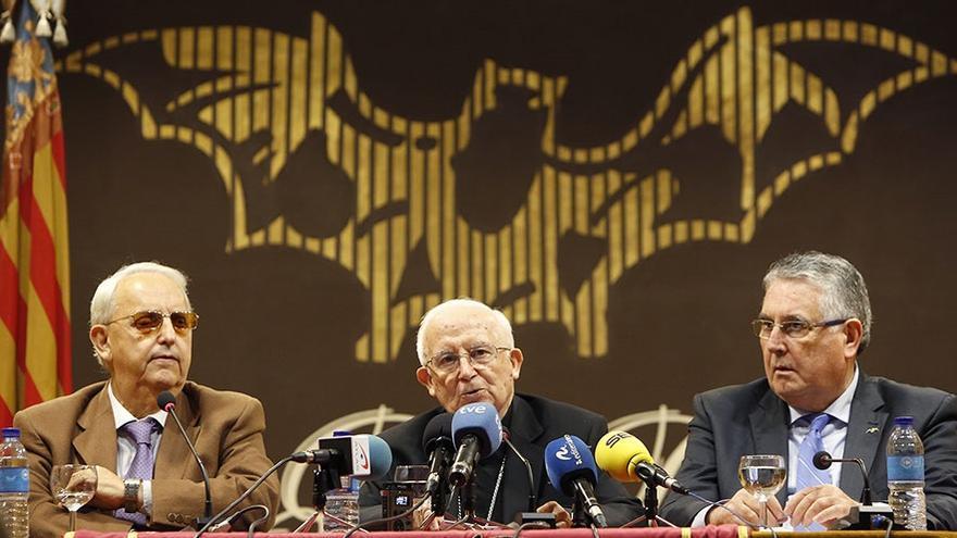 Imagen de la intervención de Antonio Cañizares en Lo Rat Penat