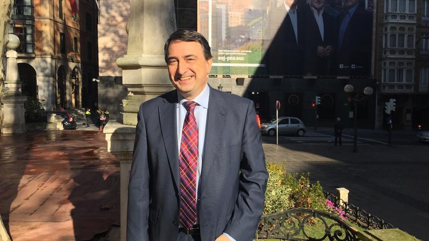Aitor Esteban, la voz del PNV en el Congreso de los Diputados.