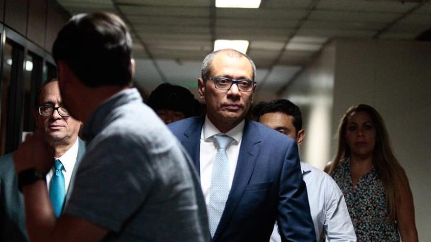 El martes se conocerá si se llama a juicio al vicepresidente de Ecuador, dice la Fiscalía