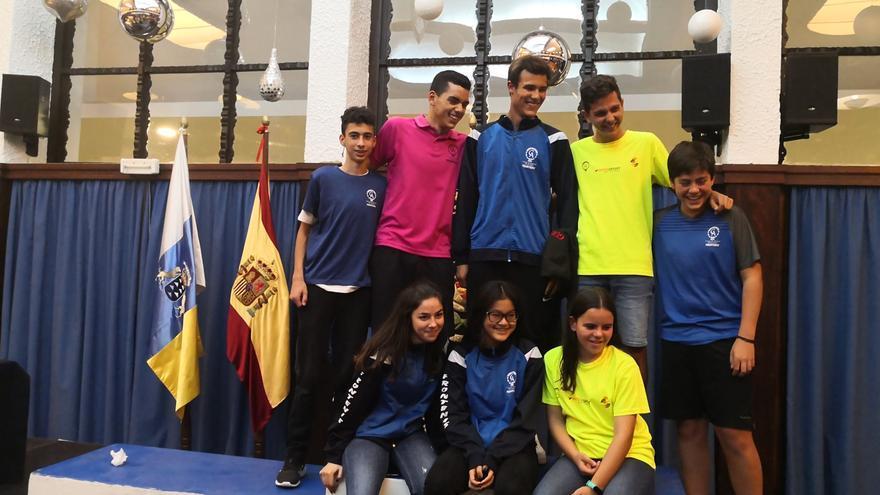 Destacados resultados de los jugadores del Círculo en la cita celebrada en el Náutico de Tenerife.