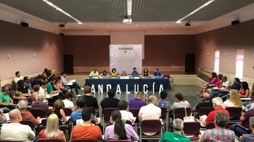 """Podemos Andalucía pide cambios en la estructura estatal para """"descentralizar y democratizar"""" el partido"""