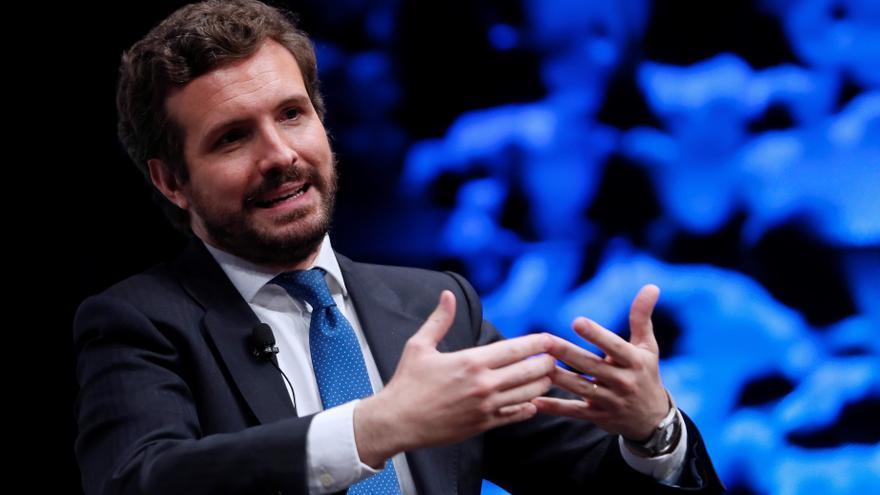 """Casado: Sánchez está """"secuestrado"""" por el independentismo porque """"ha querido"""""""